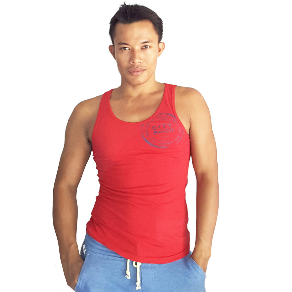 SLIM FIT STAR RED