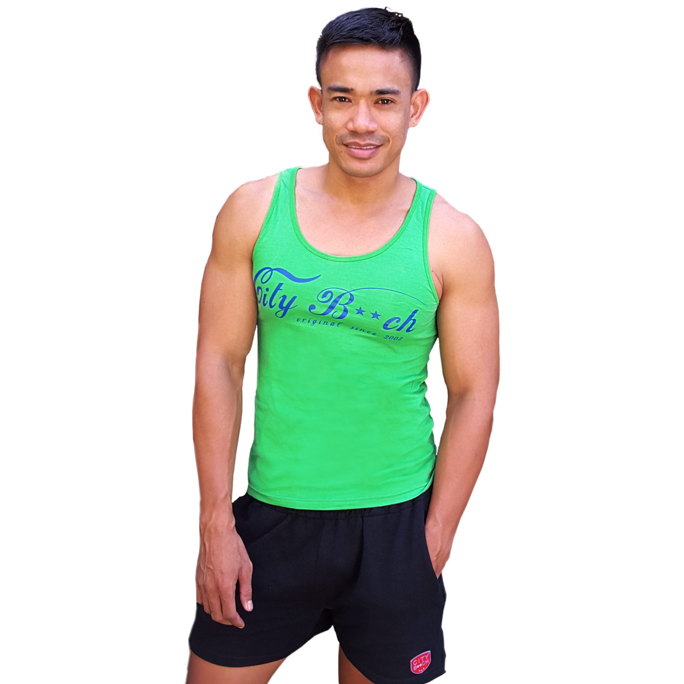 SLIM FIT SUPERBEACH GREEN