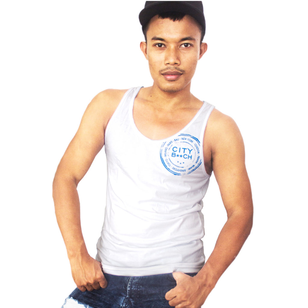 SLIM FIT STAR WHITE