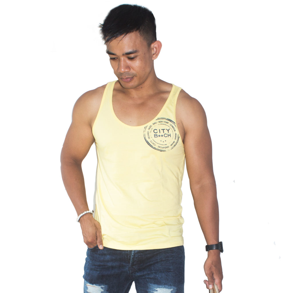 SLIM FIT STAR YELLOW